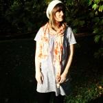ZoSews shirred dress