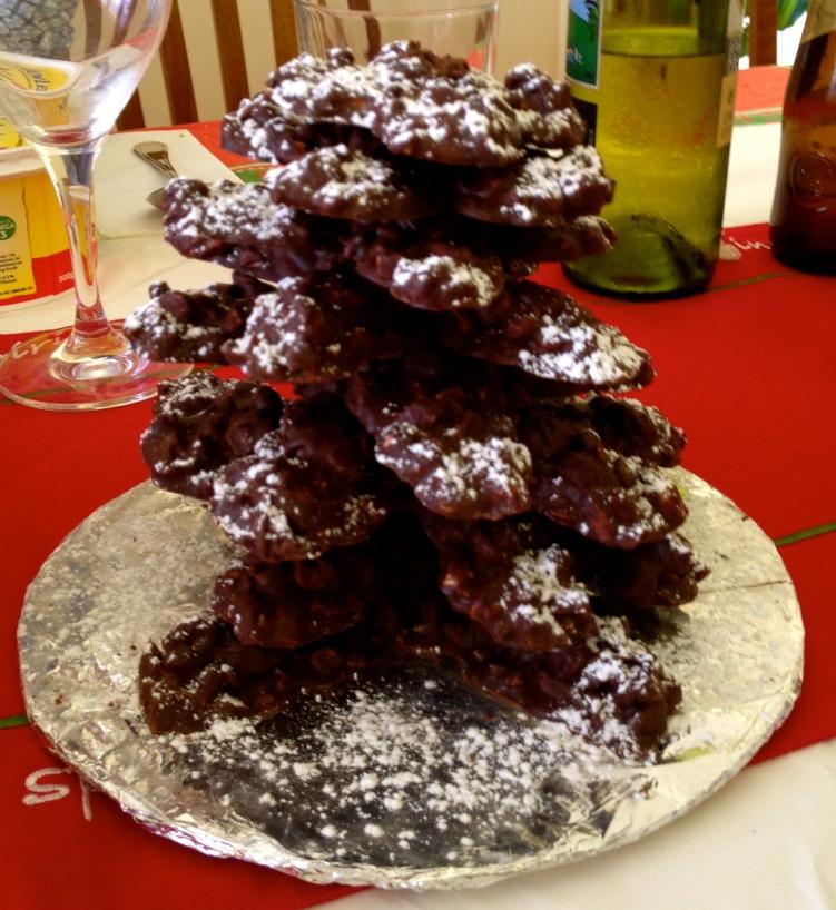 Chocolate Xmas tree