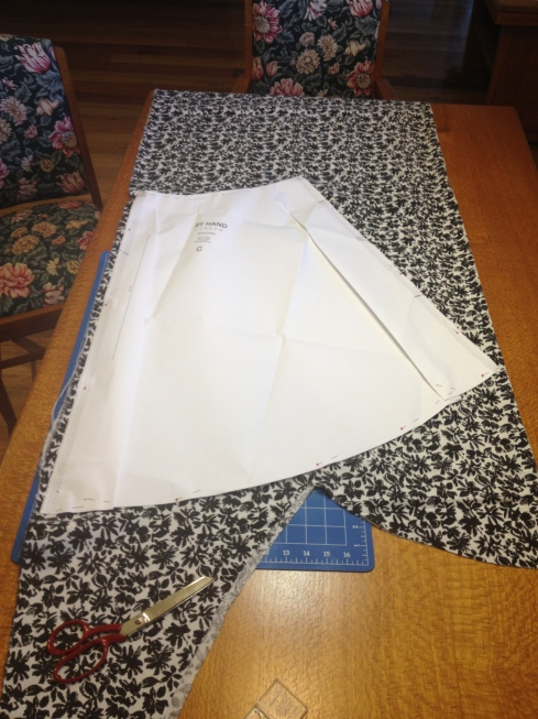 Cutting Flora Dress Skirt
