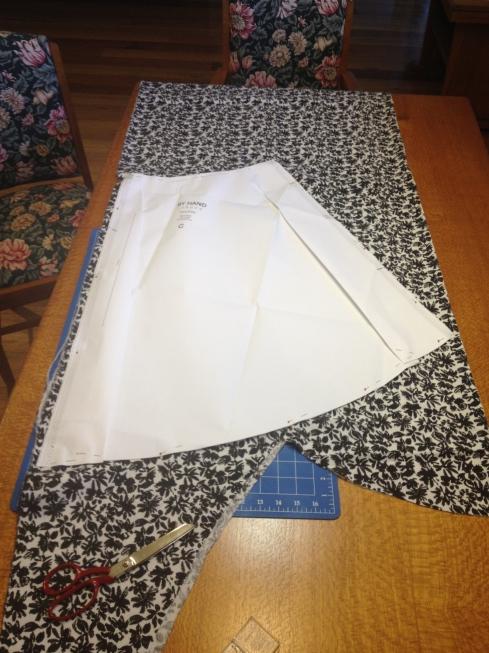 Cutting Flora Dress Skirt